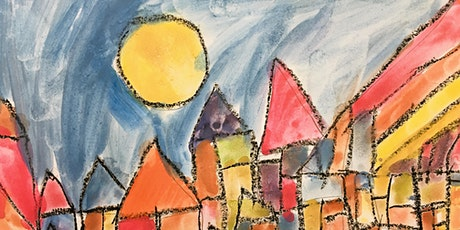 Family Art Class   - Let's make art with shapes! tickets