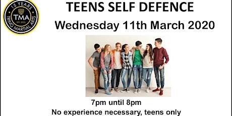 Teens Self Defence Seminar tickets