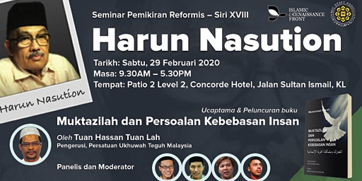 Seminar Pemikiran Reformis – Siri XVIII Harun Nasution