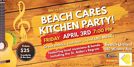 Beach Cares Kitchen Party tickets