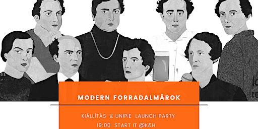 Modern forradalmárok launch partyja