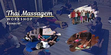 13º Workshop - Thai Massagem Essencial ingressos