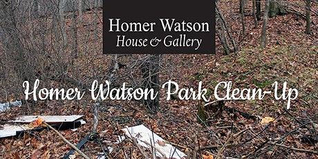 Homer Watson Park Clean up tickets