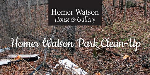 Homer Watson Park Clean up