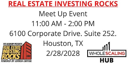Real Estate Investing Rocks Live  Meet Up
