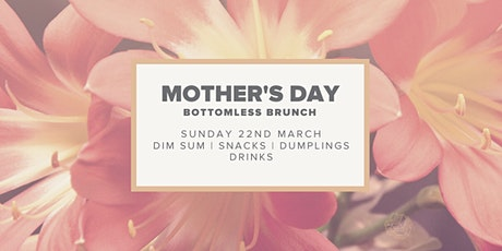 Mother's Day Bottomless Brunch at Lu Ban tickets
