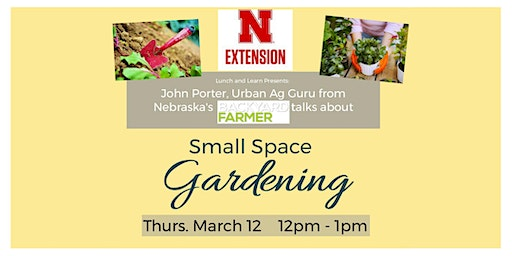 Lunch & Learn: Small Space Gardening