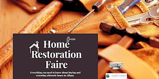 Home Restoration Faire & Land Bank Open House