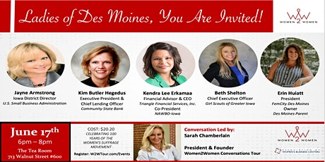 Women2Women - Des Moines, IA tickets