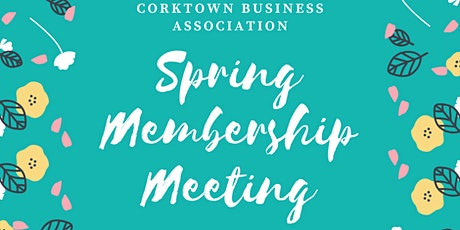 Spring 2020 CBA Membership Meeting tickets