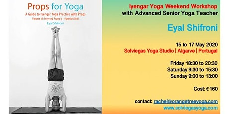 Iyengar Yoga Weekend with Eyal Shifroni ingressos