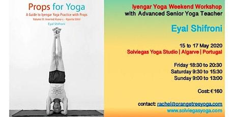 Iyengar Yoga Weekend with Eyal Shifroni bilhetes