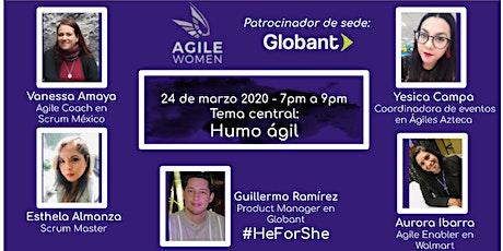 Evento de Comunidad Agile Women: marzo 2020 - Humo ágil boletos