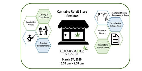 Cannabis Retail Store Licensing Seminar tickets