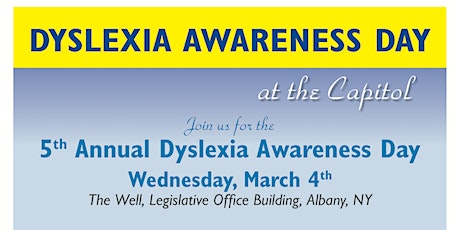 Dyslexia Awareness Day March 4, 2020 tickets