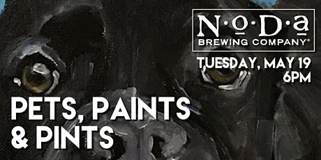 Pets, Paints & Pints at NoDa Brewing Company tickets