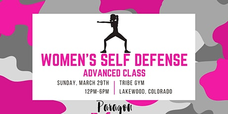 Women's Self Defense - Advanced tickets
