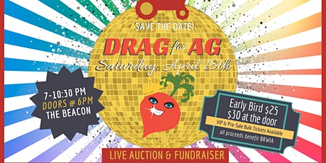 DRAG FOR AG 2020!!! tickets
