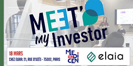 MeetMyInvestor #10 avec ELAIA billets