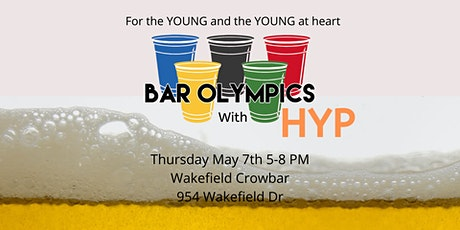 Bar Olympics with HYP tickets