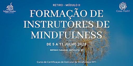 Formaçao Profissional de Instrutores de Mindfulness (Modulo2  Certificação)