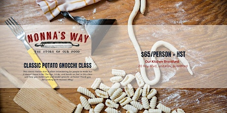 Hands-On Gnocchi Class tickets