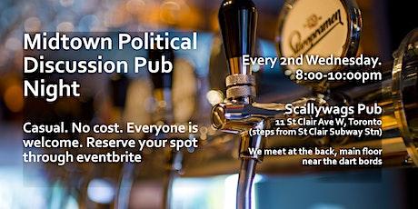 Midtown politics pub night tickets
