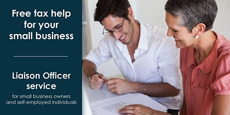 Free tax help for your small business by CRA Liaison Officer tickets