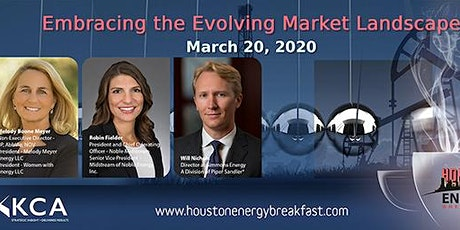 HOUSTON ENERGY BREAKFAST - Embracing the EVOLVING Energy Market Landscape tickets