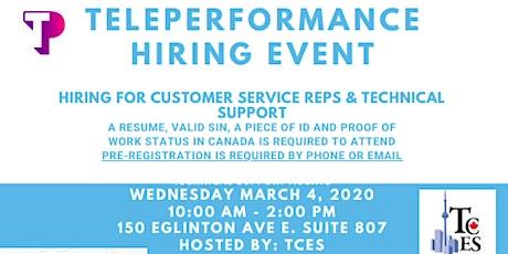 Teleperformance Hiring Event tickets