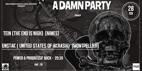 Concert Power Rock : United States of Akrasia + The End Is Nigh billets