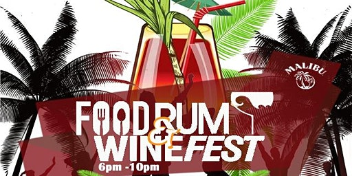 Food, Rum and Wine Fest Pop Up Party