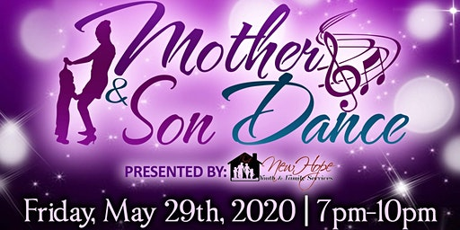 Mother and Son Dance presented by New Hope Youth and Family Services