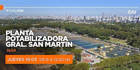 Visita a Planta Potabilizadora Gral. San Martin – AySA entradas