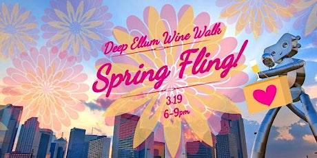 Deep Ellum Wine Walk: Spring Fling! tickets
