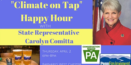 """""""Climate on Tap"""" Happy Hour with Rep. Carolyn Comitta tickets"""