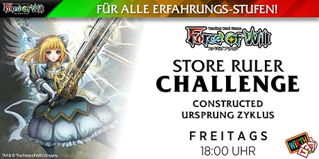 "Force of Will Store Ruler Challenge: Constructed ""Ursprung Zyklus"" Tickets"