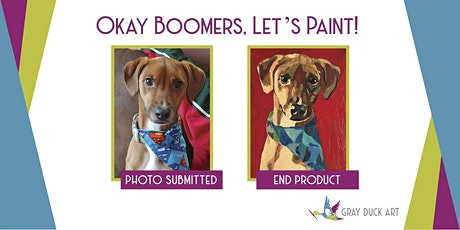 CANCELED Paint Your Own Pet | Baby Boomers (55+) tickets