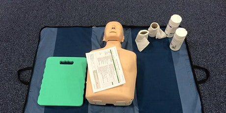 Emergency First Aid at Work at SCQF Level 6 tickets