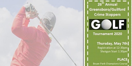 26th Annual Greensboro/Guilford Crime Stoppers Golf Tournament