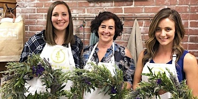 Fresh Herb & Lavender Wreaths at Sugarboo & Co (Fort Worth)