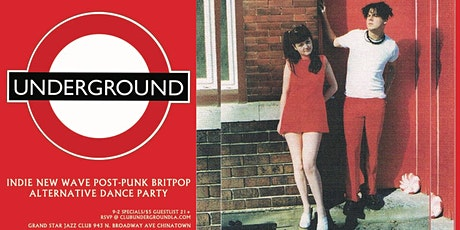 Underground {Friday We're In Love} DTLA Let's Dance L.A.! indie New Wave + tickets