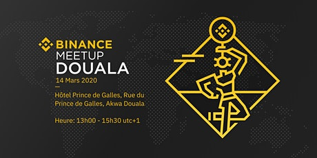 Douala Binance Meetup billets