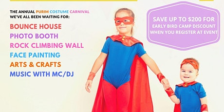 Purim Costume Carnival  at Shorefront Y tickets