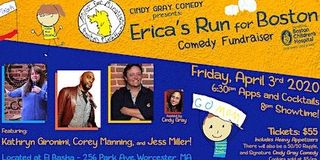 Boston Children Hospital Comedy Fundraiser - Erica's Run for Boston tickets