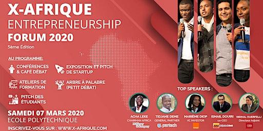 X-AFRIQUE ENTREPRENEURSHIP  FORUM 2020