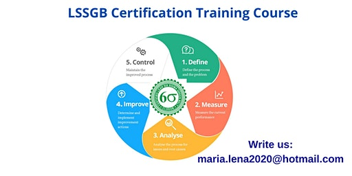 LSSGB Classroom Training in Barstow, CA