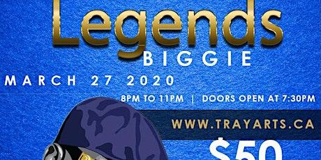 Biggie Legends Paint Night tickets