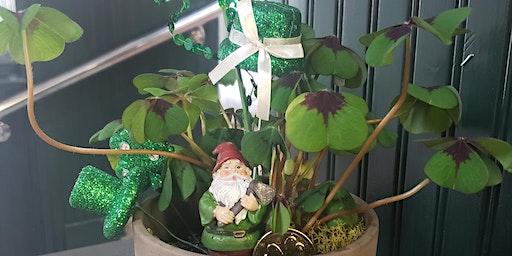 St. Patrick's Day Leprechaun Garden