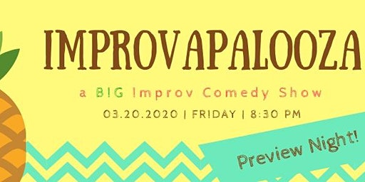 Improvapalooza - a BIG improv comedy show preview night